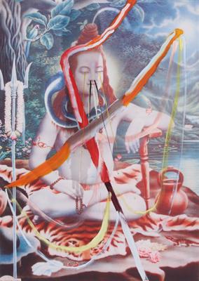 Untitled (Shiva) by Schnabel Julian