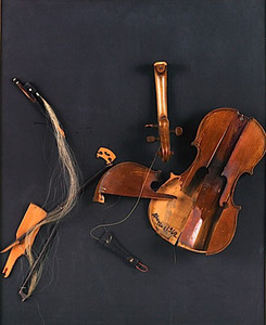 Sarasate's Gipsy Hair by Arman
