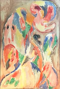 Le grand lymphatique by Alechinsky Pierre