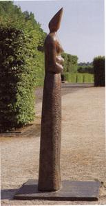 Femme Oiseau (grande avec robe) by Folon Jean-michel