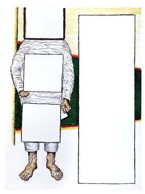 Een mens ten voeten uit by Raveel Roger