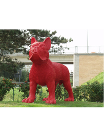 Big Red Cloned French Bulldog by Sweetlove William