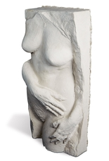 Nude with necklace by Segal George