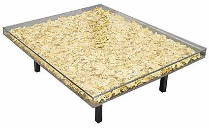 Table MONOGOLD ™  by Klein Yves