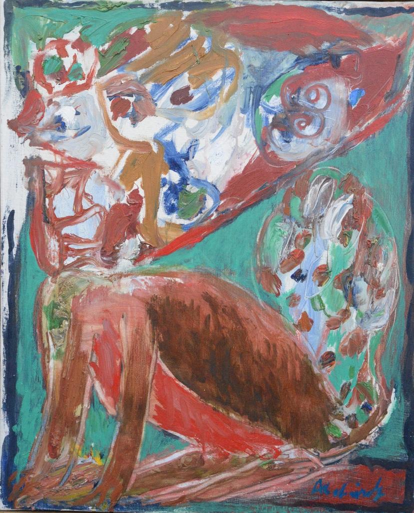 Jeune chienne  by Alechinsky Pierre