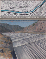 Over The River,  Project For Arkansas River, State of Colorado by Christo
