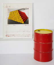Mastaba, Project For The Kunstverein Koln (2 works) by Christo