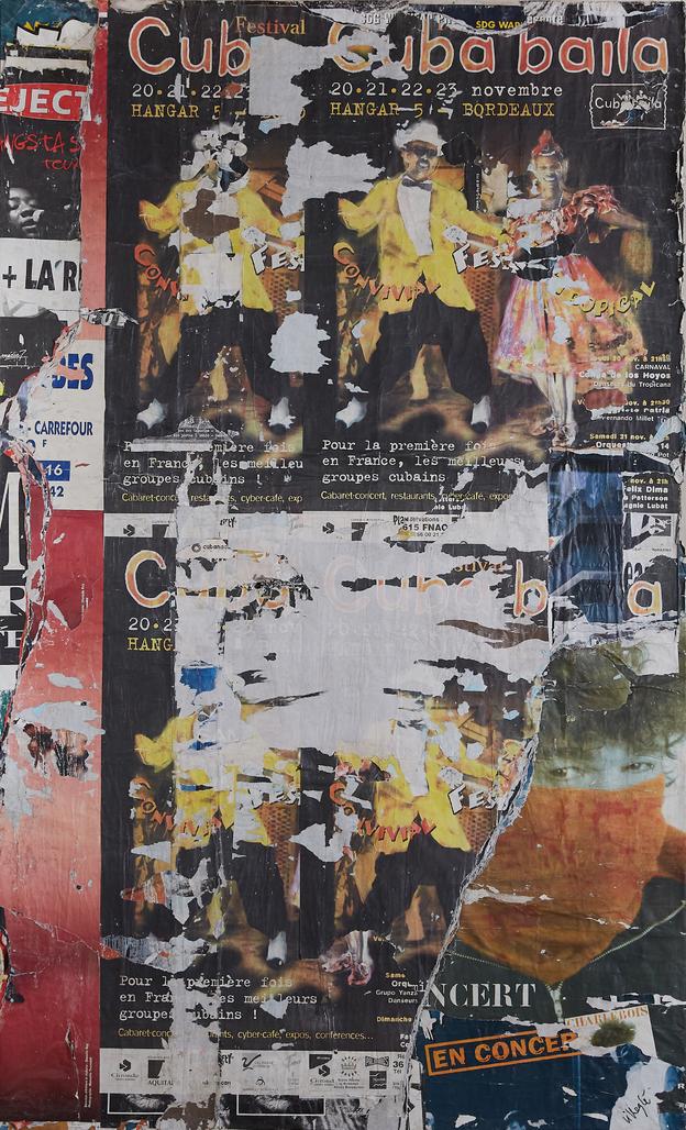 Cuba baila by Villeglé Jacques
