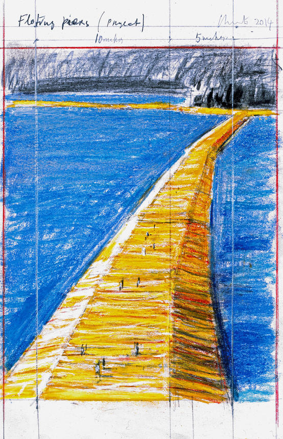 Christo-The Floating Piers