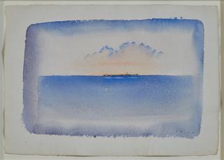 Voyage bleu by Folon Jean-michel