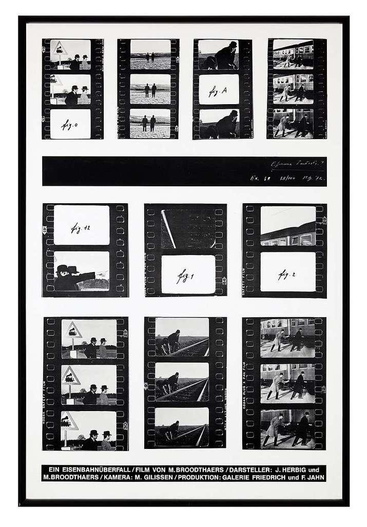 Ein Eisenbahnüberfall by Broodthaers Marcel