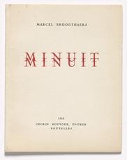Minuit by Broodthaers Marcel