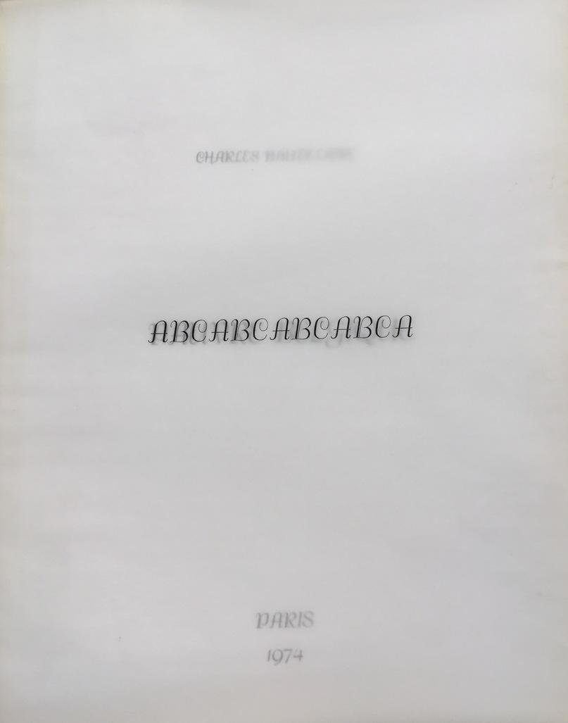 Charles Baudelaire. Pauvre Belgique by Broodthaers Marcel