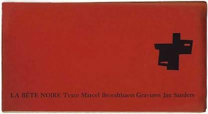 La bête noire by Broodthaers Marcel
