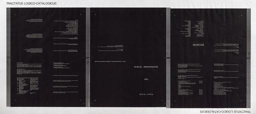 Tractatus logico-catalogicus by Broodthaers Marcel