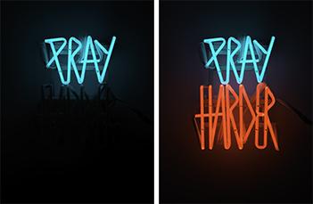 Pray Harder XL by Van Saksen-coburg Delphine