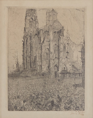 La Cathédrale by Ensor James
