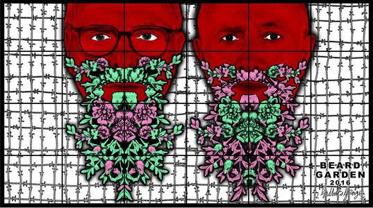 Beard Garden by Gilbert & George