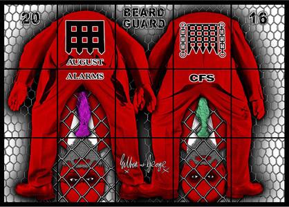 Beard Guard by Gilbert & George