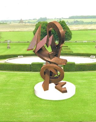 Large scale sculpture by Farhi Jean-claude