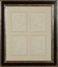 Untitled (II, IV, VII and XIV) by Miro Joan