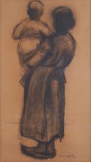 Moeder en kind by Malfait Hubert