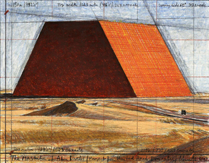 The Mastaba of Abu Dhabi (Project for the United Arab Emirates)  by Christo