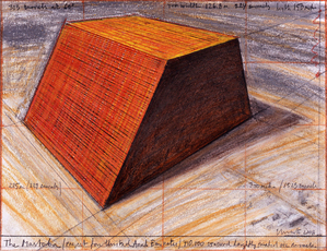 The Mastaba (Project for the United Arab Emirates)  by Christo