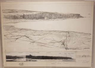 Packed Coast (Project for Australia near Sydney) by Christo