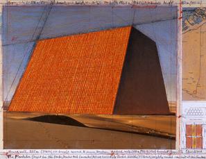 The Mastaba (Project for Abu Dhabi, United Arab Emirates)  by Christo