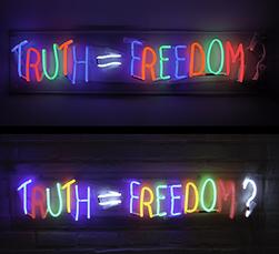 Truth = Freedom ?  by Van Saksen-coburg Delphine