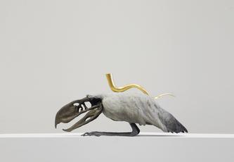 Golden Cord Terrorbird  by Vanmechelen Koen