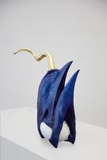 Golden Cord Hornbillsnavel met ingewerkt ei by Vanmechelen Koen