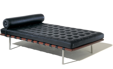 Barcelona Day Bed by Mies Van Der Rohe Ludwig