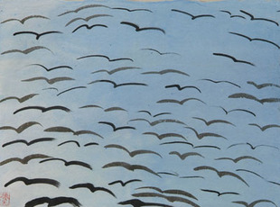 Birds of passage by Ting Walasse