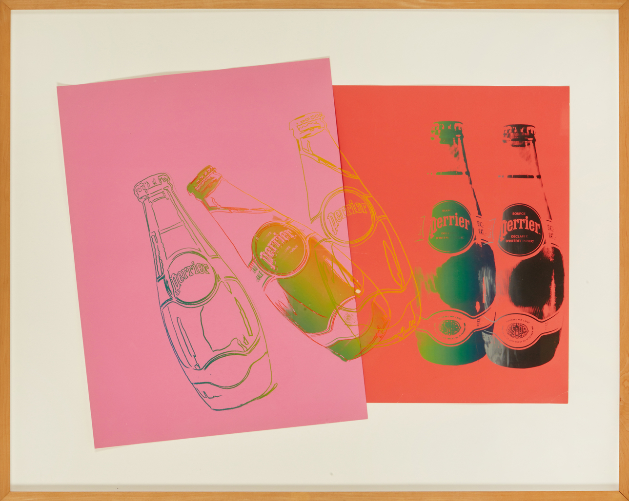 Perrier by Warhol Andy