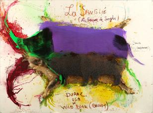 No Title (painting) by Vanmechelen Koen