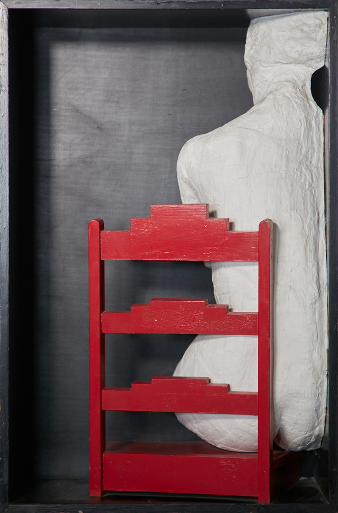 Girl on a Chair by Segal George