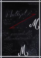 Multipl.é inimitable, illimité inimitable M.M  by Broodthaers Marcel