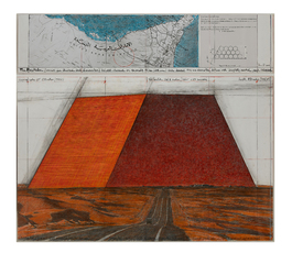 The Mastaba (project for Abu Dhabi) by Christo