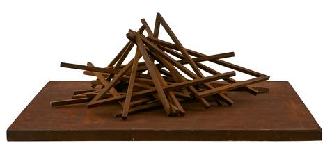 Effondrement 17 Angles by Venet Bernar