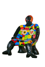 Clarice chaise femme  by De Saint Phalle Niki