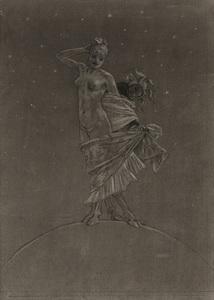 La Prostitution et la folie dominent le monde by Rops Felicien