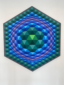 Tetcie II by Vasarely Victor