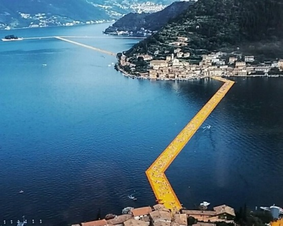 The Floating Piers - Photographed by Wolfgang Volz