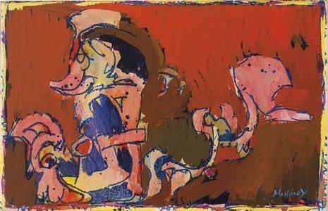 La Victoire de Tollund by Alechinsky Pierre