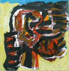 Head in the storm by Appel Karel