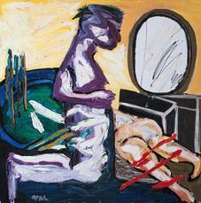 The Kneeling by Appel Karel
