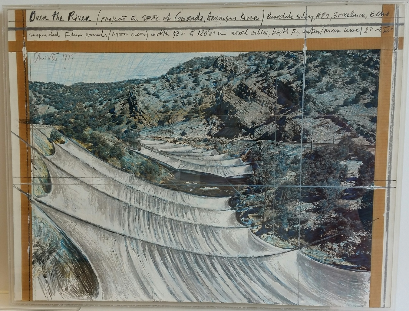 Over the River (Pojrect for State of Colorado, Arkansas River) by Christo