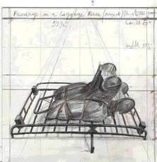 Package on Luggage Rack (project) by Christo